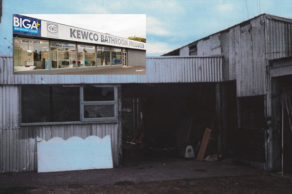 Kewco-starts-in-chook-shed