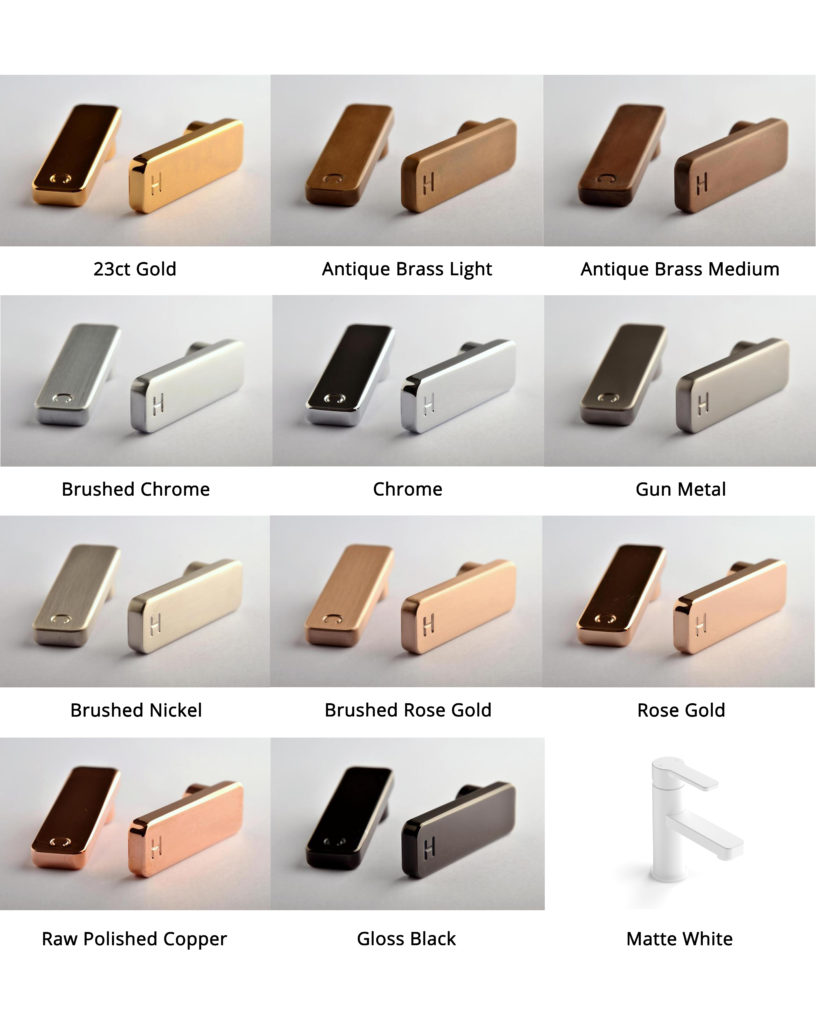 Kewco Faucet Strommen Zeos-Colour-Range
