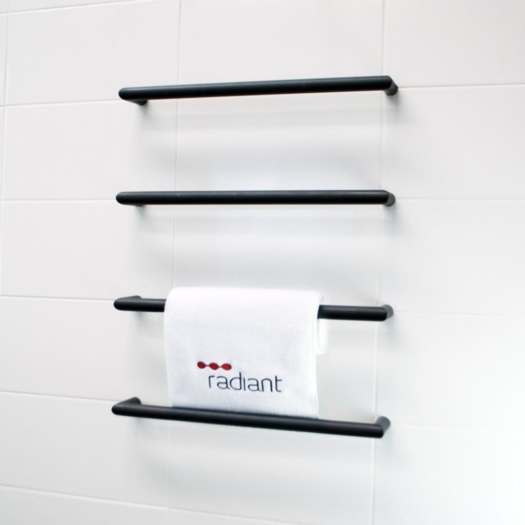 Radiant Heated Towel Rails